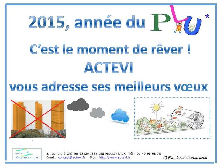 ACTEVI Voeux 2015